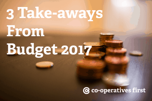 Top 3 Take-aways from Budget 2017
