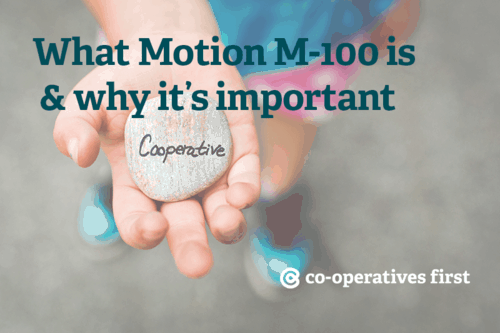 What Motion M-100 is & why it's important