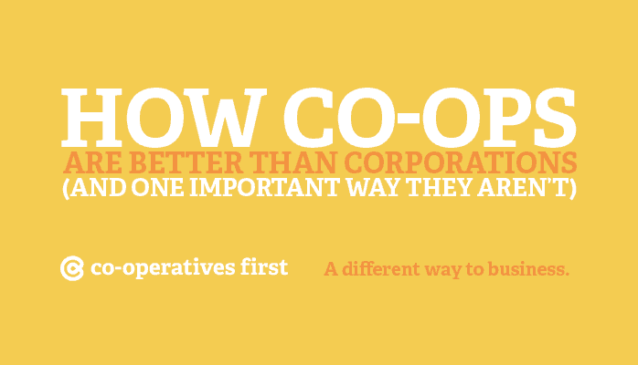 Co-operatives First