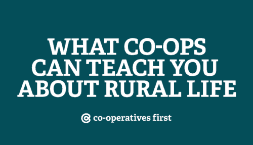 Learning from co-ops in rural Canada