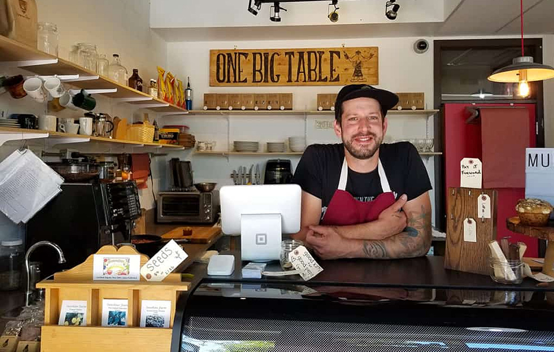 Guilio Piccioli in One Big Table